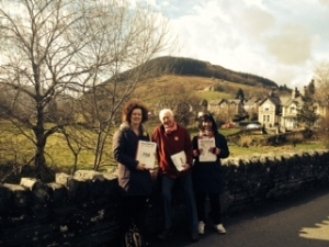 Out in the beautiful Spring Sunshine in Penmachno