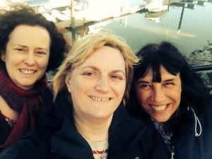 "Joining the ""selfie"" craze in Conwy"