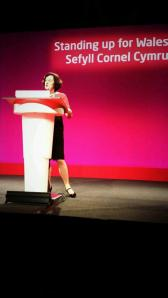 speaking to welsh labour conference