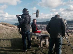 C4 filming on Orme